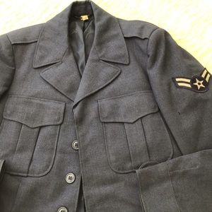Korean War era US Air Force Patched Ike Jacket